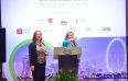 Emma-May Litchfield and Danielle Hutchinson facilitating data collection at GPC Singapore
