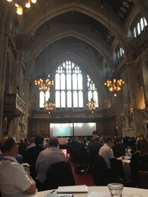 The beautiful Guildhall in London, July 2017