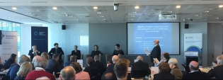 Dr Rachael Field, part of the panel facilitated by Steve Lancken, GPC Sydney