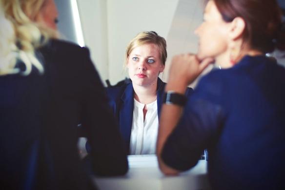 women negotiating