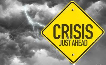 49618835-crisis-just-ahead-sign-with-a-bad-day