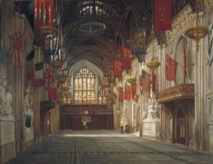Beresford, Daisy Radcliffe, 1879-1939; Interior of the Great Hall, Guildhall, London